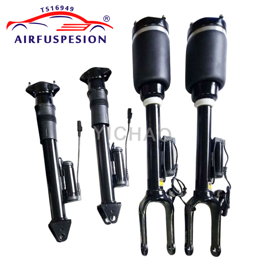 Rear Suspension Air Spring Shock Absorber For Mercedes GL-Class X164 /& W164 ADS