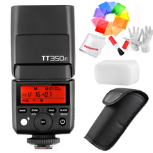 Godox TT350F pour Fujifilm Mini Speedlite Caméra Flash/X1T-F TTL HSS GN36 Haute Vitesse 1/8000 S 2.4G Sans Fil X Système pour Fuji