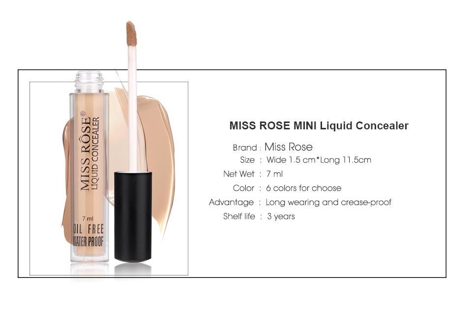 Miss Rose Liquid Concealer