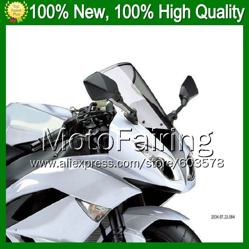 Light Smoke Windscreen For KAWASAKI NINJA ZX250R EX250 08 12 ZX 250R EX 250 2008 2009