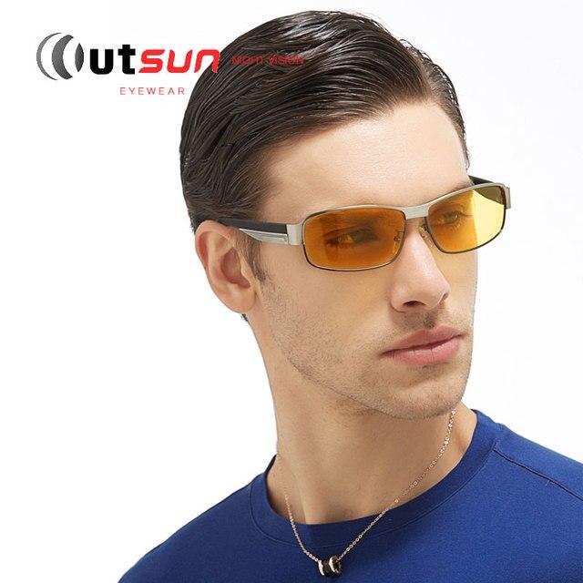 aaab539e4c0 Polarized Night vision Goggles Adult Eyeglasses Anti-glare Driving  Sunglasses For Night Vision Glasses Men