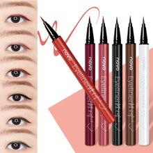 NOVO Cosmetics 6 Color Liquid Eyeliner Pencil Eye Makeup Long Lasting Waterproof