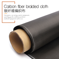 10 meters 100% Real Carbon Fiber Cloth 32/82cm width 3K 5.9oz / 200gsm 2x2 twill Carbon Fabric [SHIP BY ROLL UP]