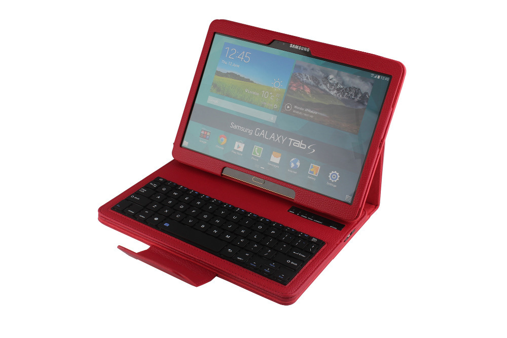 ФОТО High Quality Detachable ABS Wireless Touchable Bluetooth 3.0 Keyboard Case for Samsung Tab.S 10.5