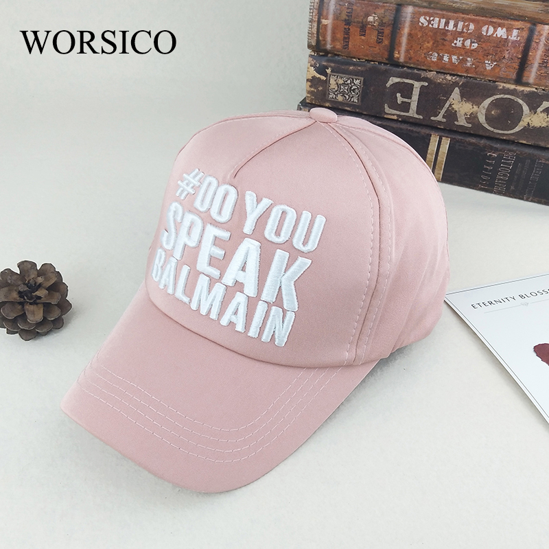 WORSICO Summer Snapback Cap Women 2017 Fashion Brand Bone Hip Hop Caps Men Casquette Suede Hat Pink Baseball Cap Wholesale