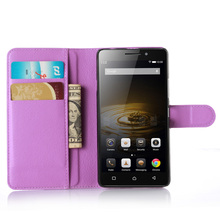 Litchi Texture Flip Leather Cover Case for Lenovo Vibe P1M P1ma40 Magnetic Phone Shell 5.0 inch Wallet Style With Card Slot
