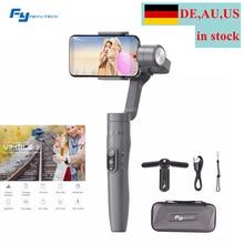 (De Lokasi) feiyu Vimble 2 Selfie Stick Perjalanan Gimbal Handheld Stabilizer untuk iPhone X 8 PLUS 7 6 SE Samsung Galaxy S9 + S9 S8 +
