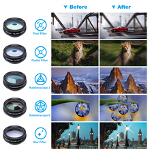 10 in 1 Camera Lenses for iPhone XS Mate Samsung HTC LG
