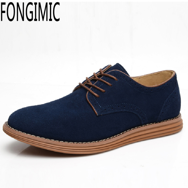 23d1dbd32dad6 Diseño de moda hombres otoño primavera desgaste con cordones zapatos  casuales respirable cómodo rebaño estilo Clásico