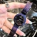 Новый модный глазированный браслет  часы для женщин  анти выцветание  полностью черные наручные часы  крутые студенческие часы для девушек  ...
