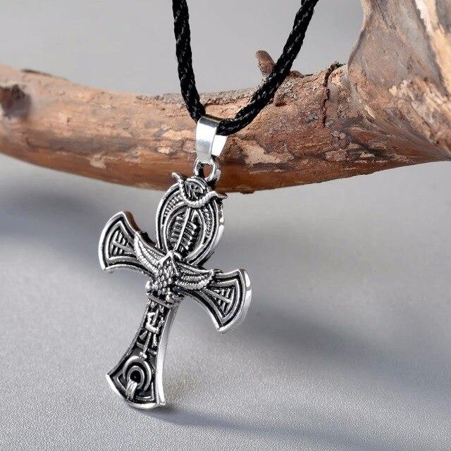 acheter chengxun scandinave viking amulette pendentif collier croix celtique. Black Bedroom Furniture Sets. Home Design Ideas