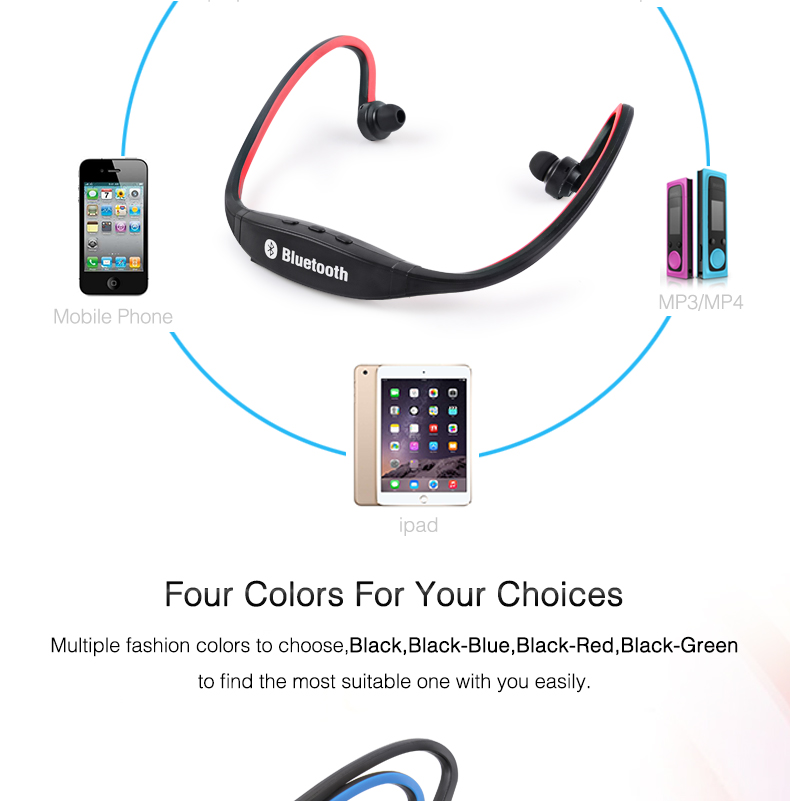 Wireless Bluetooth Earphones with Microphone Neckband Headphones for Mobile Phone Sweatproof Bluetooth Headset for Xiaomi iPhone (9)