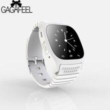 D'origine Bluetooth Smart Watch pour Hommes Femmes Baromètre Alitmeter Musique Podomètre pour Android Téléphone Samsung Montre-Bracelet