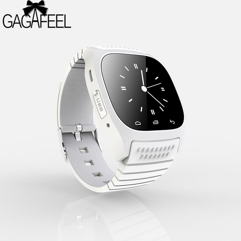 Original Bluetooth Smart Watch for Men Women Barometer Alitmeter Music Pedometer for Android Phone Samsung Wristwatch