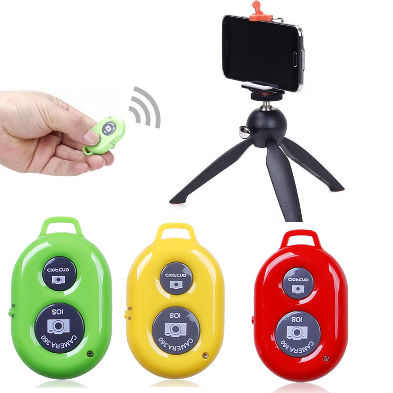 New Camera Bluetooth Remote Control Wireless Photo Shutter Release For iPhone 6 6s 7 Samsung S8 Huawei Android GDeals-15 wired remote shutter release for canon eos30 eos33 pentax samsung more