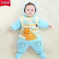New Newborn Baby Clothes Girls Boys Romper Winter Jumpsuit Thicken Cotton 0 12 M