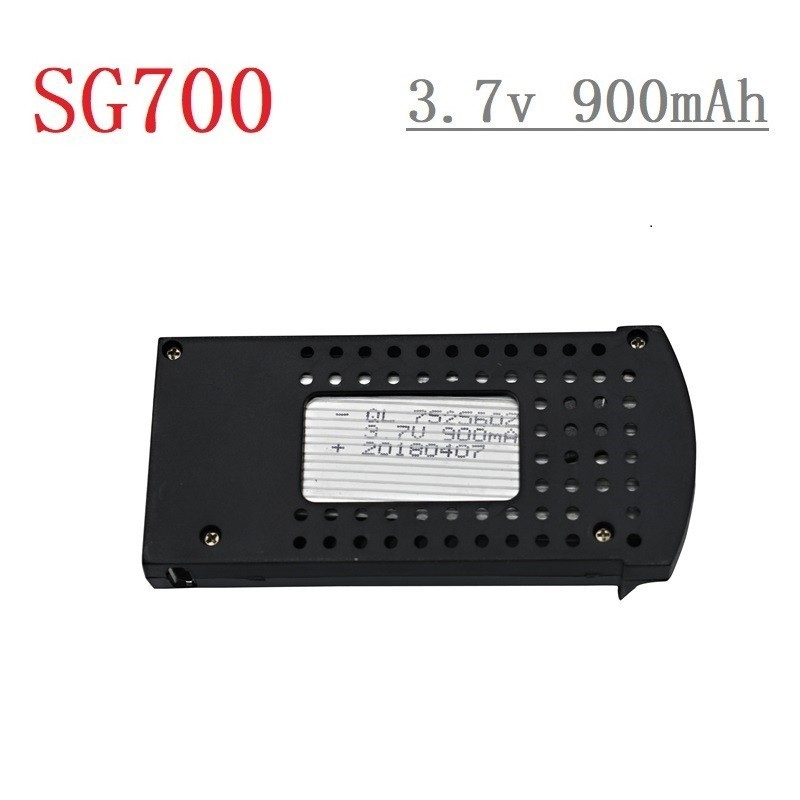 Original 3.7V 900mAh Li-po Battery for DM107S SG700 S169 RC Quadcopter Spare Parts 3.7v Drone Rechargeable Battery <font><b>752560</b></font> 1pcs image
