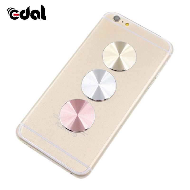 EDAL 3 Colors Fashion Metal Plate Magnetic For Car <font><b>Holder</b></font> For <font><b>Magnet</b></font> Mobile Stand For Universal <font><b>Phones</b></font>