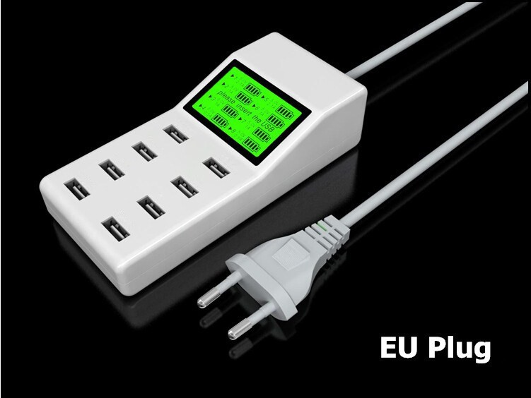 Universal-8-USB-Ports-Led-Display-US-EU-UK-Plug-Travel-AC-Power-Strip-Adapter-Socket