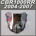 Motor For Honda CBR 1000RR 2004 2007 05 06  Windshield/Windscreen Silver Motorcycle Accessories New