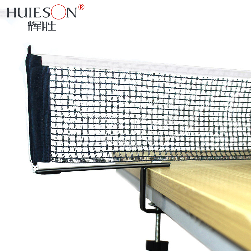 Huieson Professional Table Tennis Net Set Screw Type Ping Pong Net Rack Kit Table Tennis Accessories For 5.8cm Less Thick Table