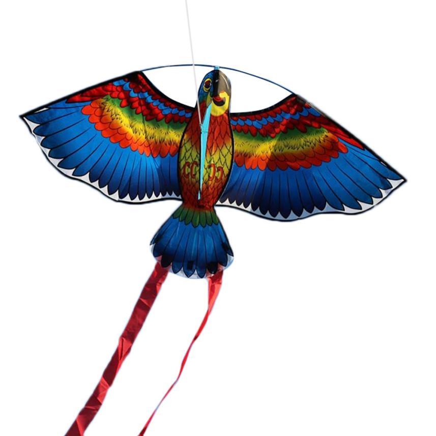 2018 Random Free Shipping New Parrots Kite Single Line Breeze Outdoor Fun Sports hot sale dropshipping Jun 14