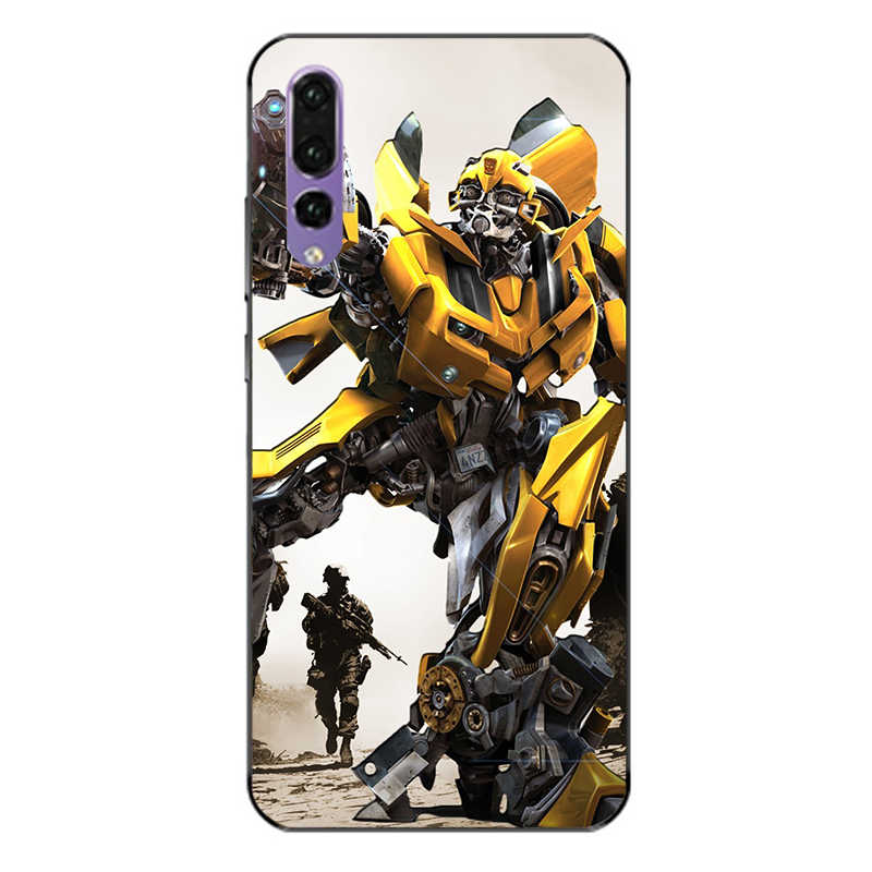 Transformers photo design mobile phone cover TPU,for Huawei mate8 9 10  10pro P9 P10 P20 P10P noca2 2S Honor9 10 v9 soft shell