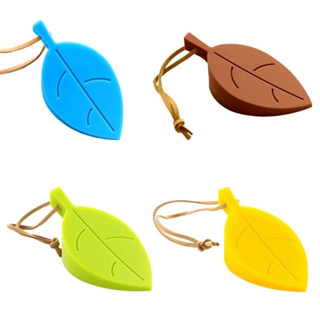1 шт. милый мультфильм листьев Стиль дверь кремния Пробка дверная безопасности для украшения дома 4 цвета