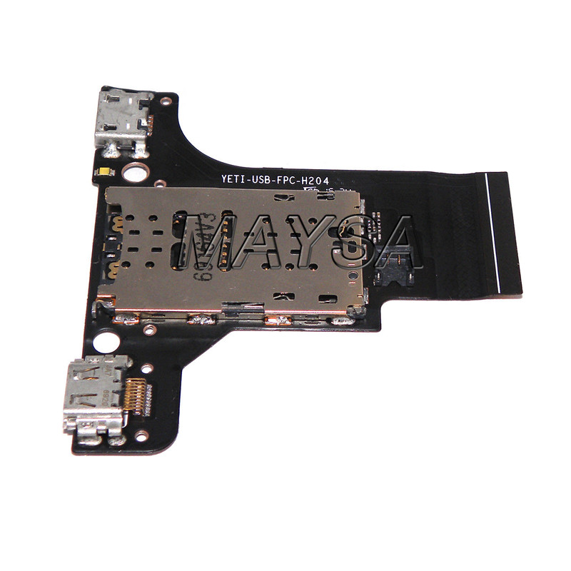 Lecteur de PORT de chargement USB lecteur MICRO SD pour LENOVO YOGA livre YB1-X90F