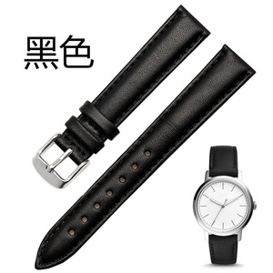Image 5 - 12mm 14mm 15 mm 16mm 17mm 18mm 20mm rose gold white black brown leather strap, strap lady watch free postage.