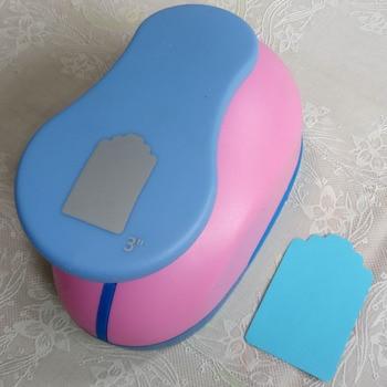 "1,5 ""-3"" etiqueta DIY punch craft agujero perforadora para eva espuma de puncher niños scrapbook cortador de papel para álbum de recortes perforadora"