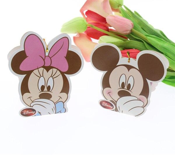 Free Shipping 20Pcs Minnie Mickey Candy Box Birthday Favors Candy Box Birthday Party Boxes Gift Box