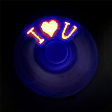 2017 Hot Sale Fridget Spinner New Design LED Flash light Fidget Hand Spinner Finger Toy EDC Focus Gyro Gift F Adult kids P4