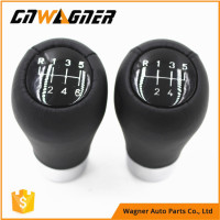 CNWAGNER 5speed 6speed Genuine Leather Gear Knob For BMW E60 E90 E46 E36 All Series