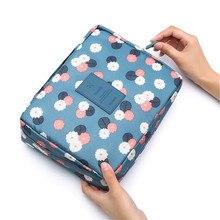 multifunction travel cosmetic bag women makeup bags toiletries organizer Zipper cosmetic bag storage bag wash makeup case L206
