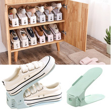 3pcs Shoe Racks Double Cleaning Adjustable Storage Shoes Rack Home Use Convenient Shoebox Creative Shoes Organizer Stand Shelf