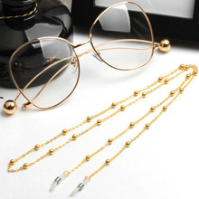 Eye Glass Alloy Strap Sunglasses Neck Chain Fashion Decoration Metal Chain Holder Eyewear
