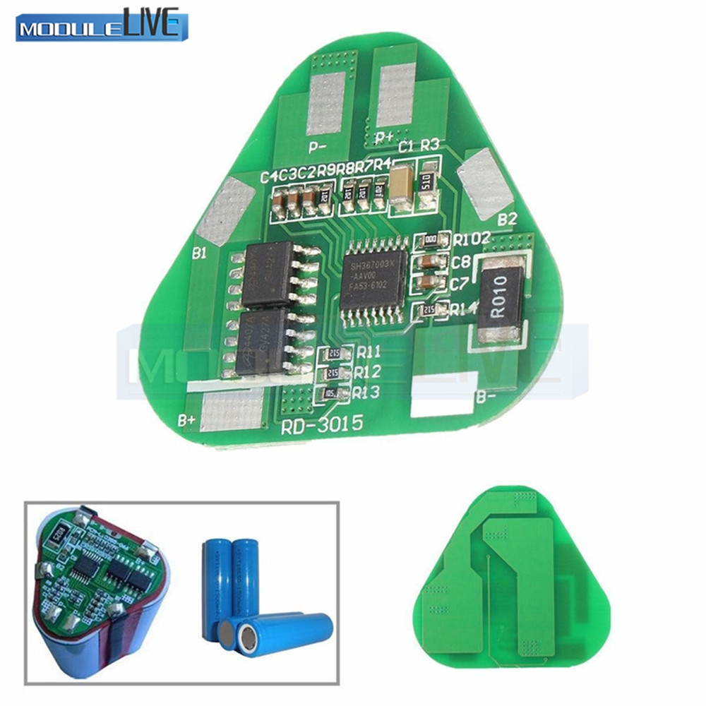3s 12v 18650 10a Bms Charger Li Ion Lithium Battery Protection Board 108v 111v 20a Circuit 4a 3 Cell Pcb