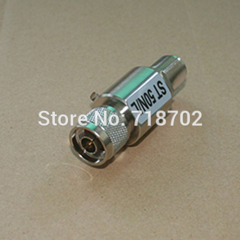 Free Shipping 5pcs N male to N Female Conenctor Antenna Lightning Surge Arrestor areyourshop 5pcs lightning arrestor n male plug to n female coaxial 0 2 5ghz 400w ca 23rp