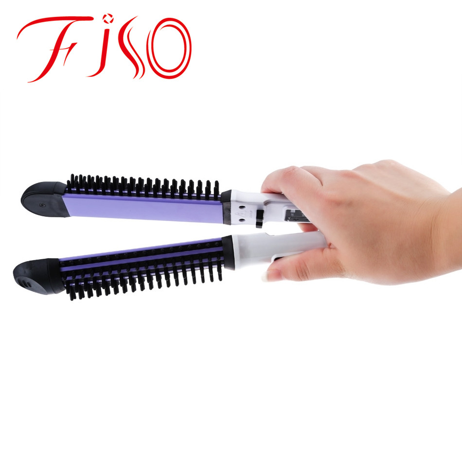 Profession Electric Ceramic Brush Hair Straightener Combine Multi-functional Styling Tools Fast Straightener Iron Hair Styling innovative design black hot brush hair straightener iron ceramic styling brush electric hair straightener lissante pour cheveux