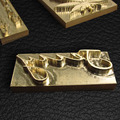 Length3cm Width2.5cm Металл, Латунь Плесень Кожа Марка Логотип Дизайн Инструмент Брендинг Пластины Пластиковые Торт Хлеб Плесень Отопление