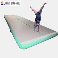 Великие реки Hill воздуха трек airtrack ПВХ плавающей платформа для дома гимнастика надувные airtrack 6 м