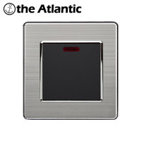 Atlantic 20A Switch With Neon High Power Conmutador Kitchen Water Heater Push Button Wall Switch   Air     Condition   Interruptor