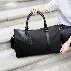 Мужские дорожные сумки, модная нейлоновая большая сумка для путешествий, складная сумка для путешествий, вместительная сумка для багажа, до...