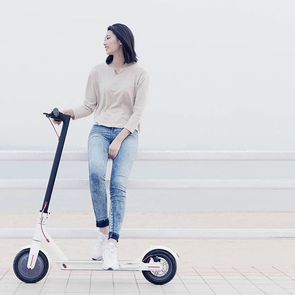 цены Xiaomi Mi Electronic Scooter 2 Wheels Foldable Smart Scooter Skate Board Hoverboard Adult 30km Battery Bike Kick Scooters