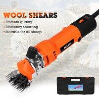 220V Electric Sheep Shearing Clipper Scissors Shears Cutter Goat Horse Clipper Machine 6 Gears Speed 13 teeth blade