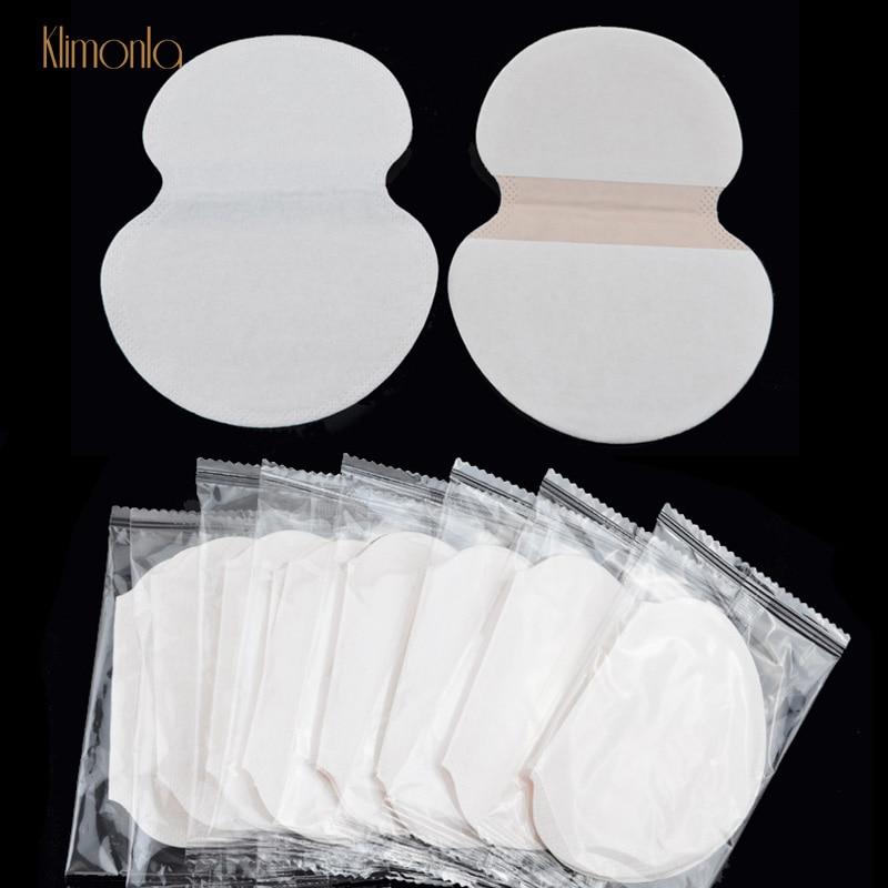 200pcs(100 Pairs) Underarm Adhesive Sweat Pads Antiperspirant Deodorant Shield Pads For Women Armpit Linings