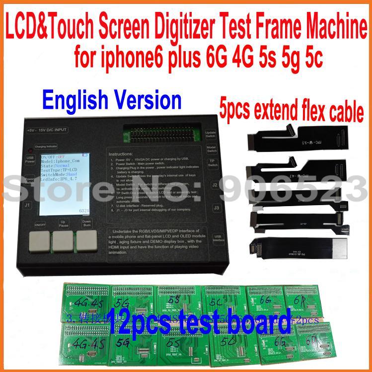 Für iphone6 Lcd touchscreen Digitizer Metall Testen Rahmen Maschine ...