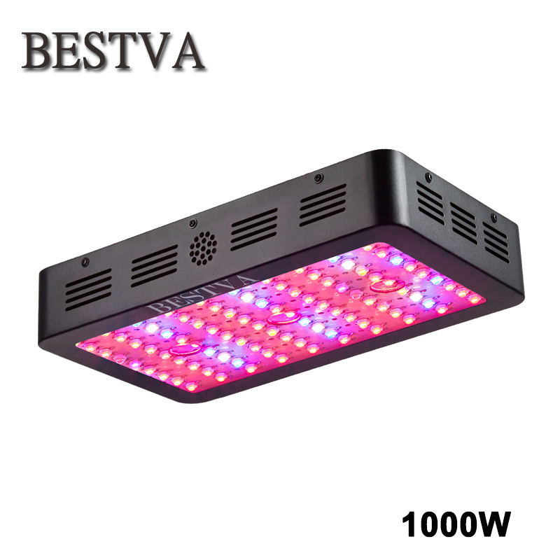 Led grow light 1000W Full Spectrum lamp Panel for Medical Plants Veg Fruit indoor greenhouse plant growing 360-870nm high yield full spectrum cob 400w led grow light grow leds growing tent for hydroponic indoor greenhouse garden plants growing veg bloom