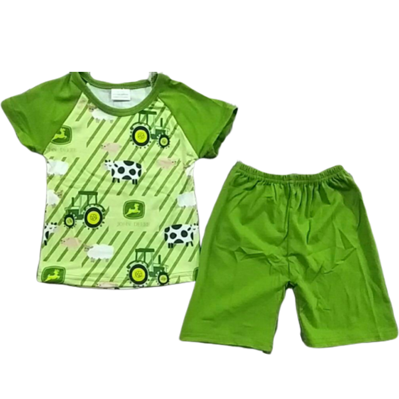 Baby Clothing-Set Print-Outfit Farm 2piece Boys New-Arrival
